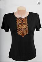 Вышиванка  футболка  женская  трикотаж 937 ( С.Е.С.)