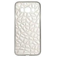 Накладка для Samsung J510 Galaxy J5 силикон 2E Diamond TR Black