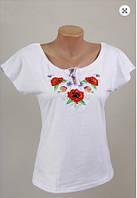 Вышиванка  футболка  женская  трикотаж 938 ( С.Е.С.)