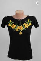 Вышиванка  футболка  женская  трикотаж 948 ( С.Е.С.)