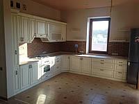 Кухня Эггер из массива дуба