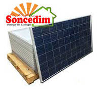 21,90 кВт сонячних батарей Amerisolar AS-6P30 285W / 5BB (74 шт.)