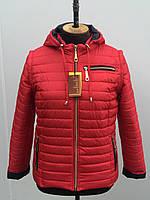 Демисезонная женская куртка короткая с капюшоном, фото 1