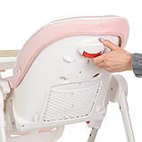 Стільчик ME 1037 ( рожевий), фото 4