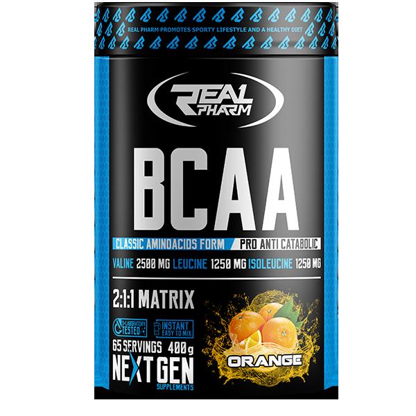 Аминокислоты BCAA Real Pharm - BCAA (400 грамм)