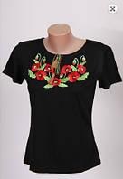 Вышиванка  футболка  женская  трикотаж 980 ( С.Е.С.)
