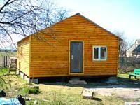 ДАЧНЫЙ ДОМИК сборно- разборный6 Х 10 со встроенной террасой