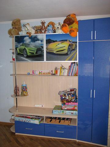 Детский шкаф-стеллаж