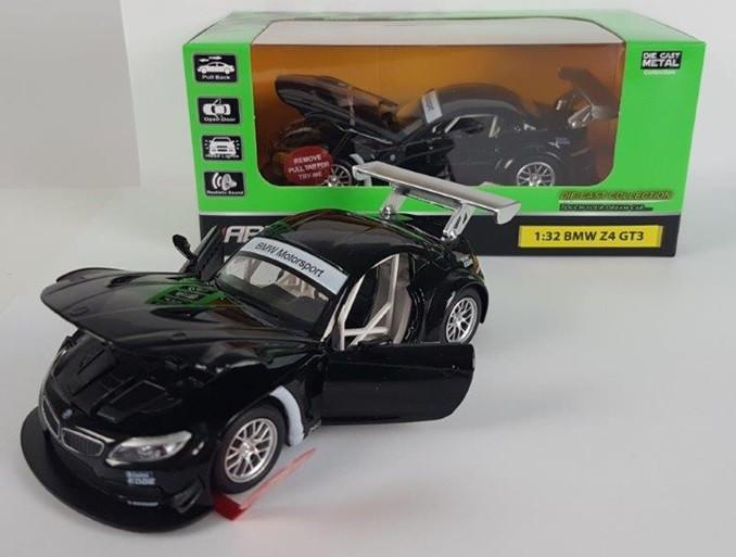 """Машинка """"Автопром"""" 1:32 BMW Z4 GT3 в коробке 1899см"""