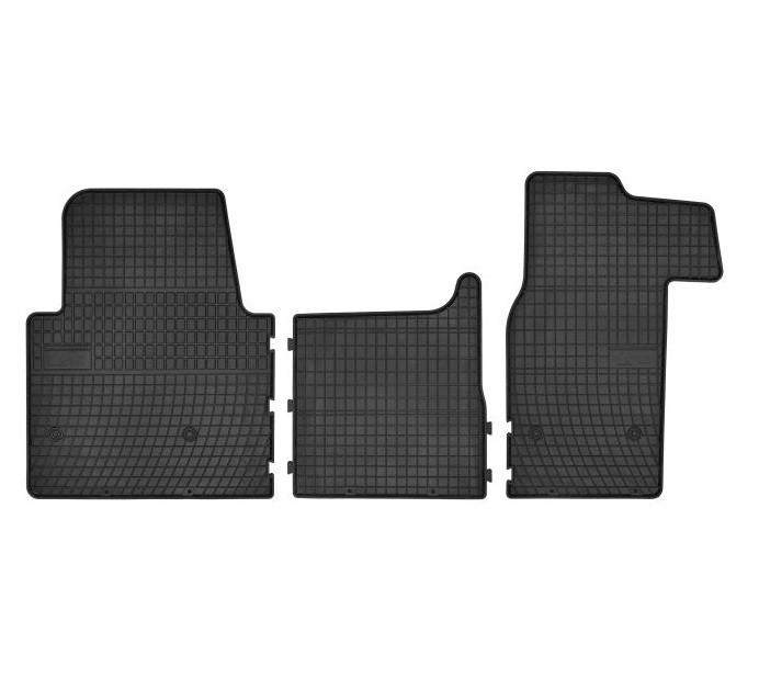 Гумові килимки в салон FROGUM OPEL Movano B, RENAULT Master III 2010->, NISSAN NV400