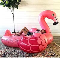 Надувной матрас Modarina Мега Фламинго 220 см Розовый PF3341