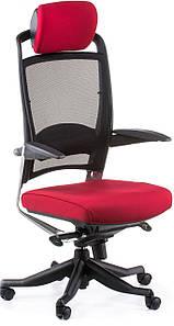 """Кресло офисное Fulkrum dееprеd fabric, black mеsh Синхромеханизм multi-position ТМ """"SPECIAL4YOU"""""""