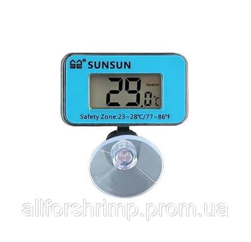 Термометр для аквариума Sunsun WDJ-05