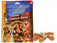 Кальциевые куриные голени для собак  Barbecue Chicken Calcium Bone Nobby (375 гр)