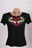 Вышиванка футболка  женская  трикотаж 981 ( С.Е.С.)