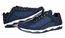Кроссовки синие демисезонные мужские, фото 2