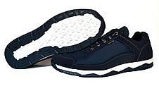 Кроссовки синие демисезонные мужские, фото 3