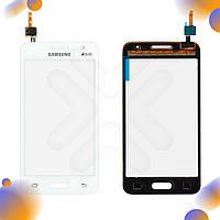 Тачскрин Samsung Galaxy Core 2 G355H, цвет белый, на 2 sim карты, ревизия 3