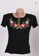 Вышиванка футболка  женская  трикотаж 983 ( С.Е.С.)