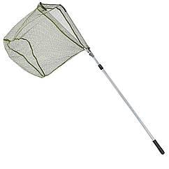 Подсак раскладной Balzer с прорезиненной сеткой 2.50м  голова 0.70м