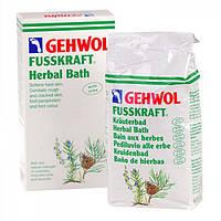 Травяная ванна  Gehwol Krauterbad для размягчения загрубевшей кожи натоптышей и мозолей 400 г (12345