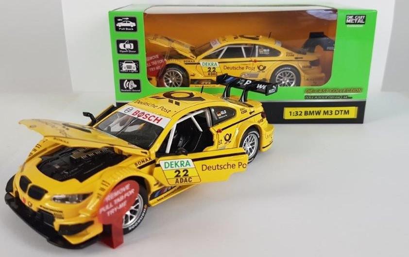 Машина металлическая Автопром 7854 спорткар 1:32 BMW M3 DTM