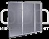 Штора на ванну из полистирола (3-створки) 170х140 см, фото 3