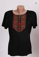 Вышиванка футболка  женская  трикотаж 984 ( С.Е.С.)