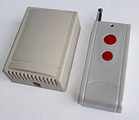 Одноканальный дистанционный выключатель, 12В 10А, с пультом управления до 200м.
