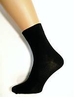 Мужские носки средней длины черного цвета