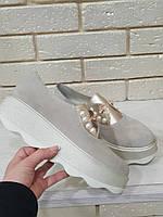 Оригинальные туфли женские замшевые RS 1710/2, фото 1