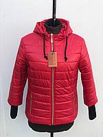 Молодежные куртки женские демисезонные очень стильные, фото 1