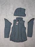 Демисезонная куртка-жилетка для девочки, фото 3