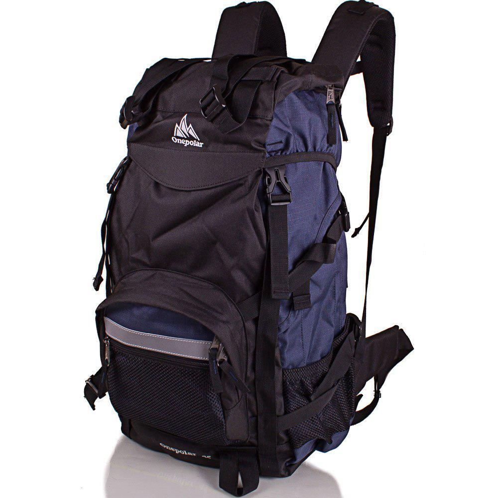 44718a8932a5 Рюкзак туристический Onepolar Мужской трекинговый рюкзак ONEPOLAR  (ВАНПОЛАР) W301-navy