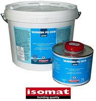 Ваниш-ПУ 2К ВВ сатин (1 кг) 2-компонентное прозрачное не желтеющее полиуретановое покрытие на водной основе.