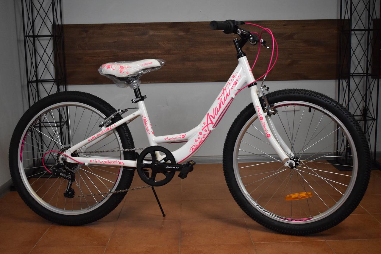 "Подростковый велосипед 24"" Avanti Blanco"