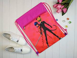 Текстильная сумка для обуви с дополнительным карманом