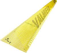 Профиль ПВХ угловой с сеткой 10 х 15 см Valmiera, фото 1
