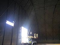 Строительство тентового арочного ангара-склада