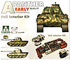 Panther Ausf.A early Production w/ Full interior 1/35  Takom 2097, фото 2