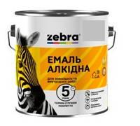 """Эмаль """"Зебра"""" ПФ-116 серебро 2.5 кг"""