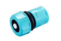 Коннектор Presto-PS для шланга 3/4 дюйма с аквастопом (7727)