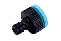 Фитинг Presto-PS адаптер под коннектор универсальный с внутренней резьбой 1/2 - 3/4 дюйма (7743)