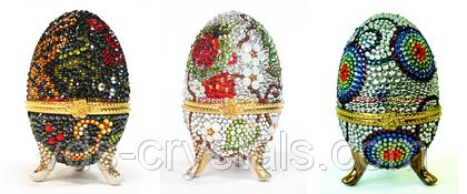Пасхальный декор с кристаллами Swarovski