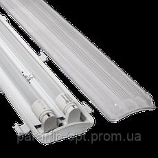 Світильник світлодіодний 36W (в компл. 2 лампи Т8 18W) IP65, фото 2