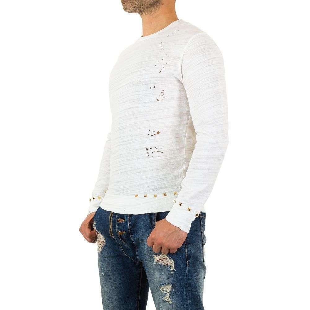 Мужская футболка от Y. Two Jeans - белый - KL-H-F802-белый