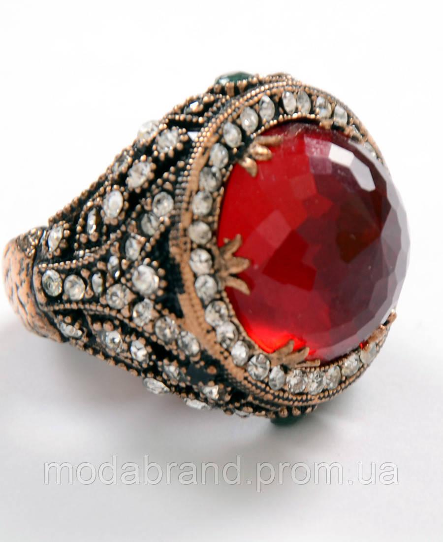 """Красивое женское кольцо с большим рубином,в османском стиле. - """"Modabrand"""" Интернет-магазин мужской и женской одежды в Киеве"""