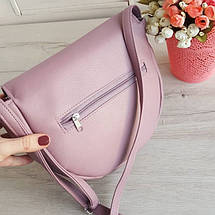 Женская сумочка через плечо розовая, фото 3