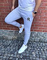 Мужские спортивные штаны, чоловічі спортивні штани Reebok серые