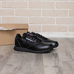 Мужские кроссовки в стиле Reebok Classic Leather (41, 42, 43, 44, 45 размеры)
